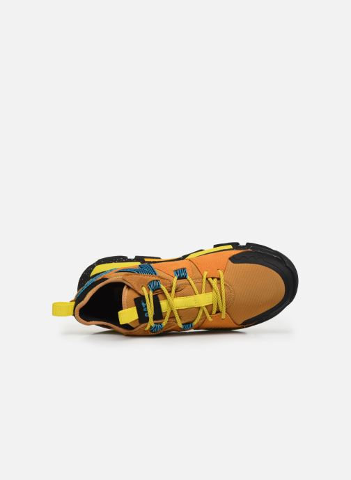 Baskets Caterpillar Raider Sport M Jaune vue gauche